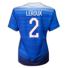 2015 FIFA Women's World Cup USA Sydney Leroux 2 Women Away Soccer Jersey