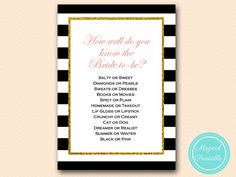 how well do you know the bride who knows bride by MagicalPrintable