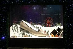 Escaparates de Navidad 2013: Selfridges es el primero en descubrir sus diseños. #holidaydisplay #escaparates #Navidad #Christmas #Londres #London #Selfridges