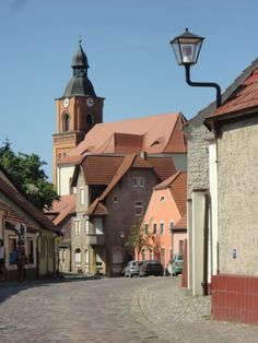 The old city of Buckow Old City, Germany, Old Things, Mansions, House Styles, Home Decor, Decoration Home, Old Town, Manor Houses