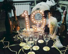 Great Gatsby Themed Birthday Party 13