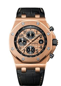 Audemars Piguet ROO Pink Gold Black Subs 26470OR.OO.A002CR.01