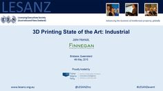 Printing State of the Art: Industrial: John Hornick explains the 7 basic industrial printing processes, and the game changers among game changers. Printing Process, 3d Printing, Game Changer, State Art, Industrial, Rock, Impression 3d, Skirt, Industrial Music