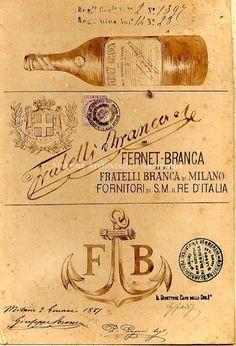 Fernet-Branca dei fratelli Branca di Milano fornitori di S.M. il re d'Italia