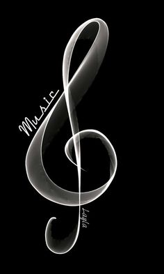 """love-can-never-lie: """"༄ 🎶 🖤🎶 ༄ """" Images And Words, Music Images, Sound Of Music, Good Music, Jazz Cafe, Soul Songs, Black Background Images, All That Jazz, Music Score"""