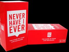 Never Have I Ever Card Game $24.95
