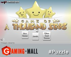 #tbt via #GamingMall..Play A Thousand Stars..A puzzle game where you solve puzzles with lots and lots of cute stars..http://ow.ly/yGM47