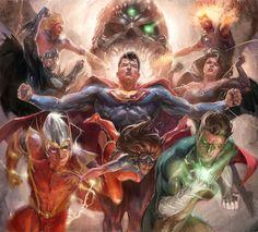 DC COMICS - CRIME SYNDICATE by Alejandro Germánico Benit