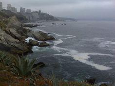 Bello mar en Chile...