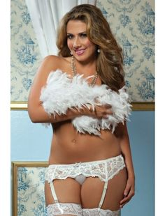 d35f88926c It will be hard to resist someone dressed as sexy as this! Lace Affairs Lace  garter belt with adjustable back and satin bow detail (thong not included)