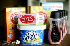 homemade laundry detergent - can use in a front load washer, just put directly into the drum.