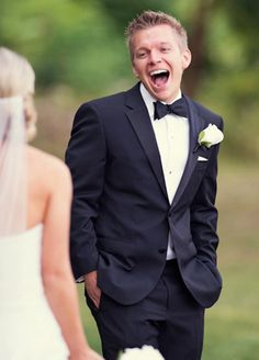 The look of pure excitement/love/happiness all in one. Photo by Joe Elario Photography