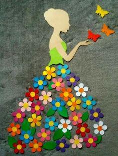 40 Easy DIY Spring Crafts Ideas for Kids - Crafts ideas 💡 Kids Crafts, Diy And Crafts, Craft Projects, Arts And Crafts, Paper Crafts, Craft Ideas, Diy Ideas, Diy Paper, Kids Diy