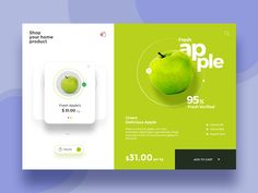 Product Page UI design