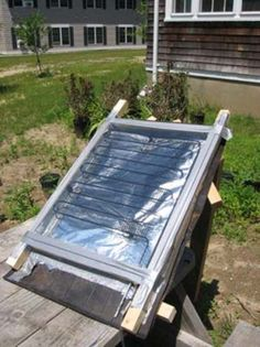 "a-homemade-thermal-power-panel Homesteading  - The Homestead Survival .Com     ""Please Share This Pin"""