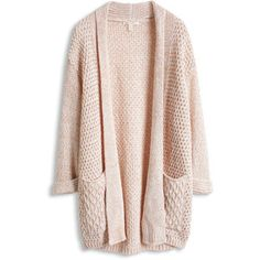 long structure cardigan