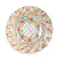Taylor Fluted Rim Luncheon Plate - Glen Park