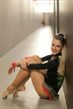 Carolina Rodríguez. Campeona de España de Gimnasia Rítmica. #leonesp