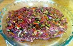 Gluten Free Rainbow Meat Loaf -  perfect for Low Carb, Paleo and Gluten Free Diets. | Grass Fed Girl