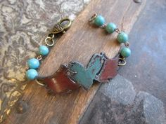 NEW! Heart with Wings Bracelet Just in time for Spring and Mother's Day!