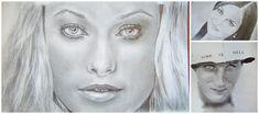 Portré rajzolás - a tökéletes portré 9 titkos trükkje - Művészház Drawings, Patterns, Tattoo, Block Prints, Sketches, Tattoos, Drawing, Portrait, Draw
