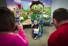 super why kids character