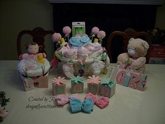 Baby Shower Creations - Butterfly Butterfly Baby Shower, Baby Shower Decorations, Shower Ideas, Baby Gifts, Diaper Cakes, Create, Children, Baby Showers, Inspiration