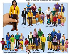 Lakeshore Block Play People - Complete Set - can purchase is individual groups as well $20 each set