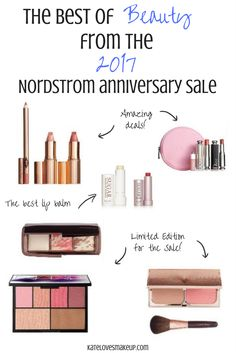 2017 NORDSTROM ANNIVERSARY SALE | BEST OF BEAUTY | Nordstrom Anniversary Sale 2017 is coming! Here are the half yearly sale dates, early access and best deals and trends to buy. Best beauty deals, limited edition palettes and amazing deals on makeup.