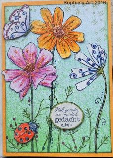Sophie's Art: Sommerblumen  -  summer flowers