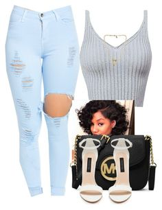 """""""Tres chic"""" by trillest-fashion on Polyvore featuring MICHAEL Michael Kors and Bee Charming"""