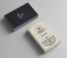 Business card design for Miss Meyhane Design by Zeynel Abidin BAL