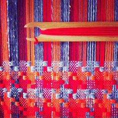 Ilse Acke - I want to learn to do cool stuff with weaving like this