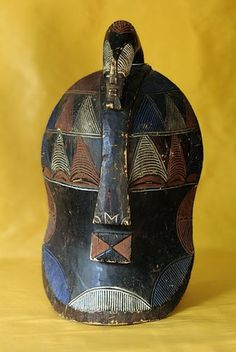 ANTIQUE WOODEN BASONGIE TRIBAL MASK - FROM ZAIRE CONGO IN CENTRAL AFRICA  $750.00.  For pick up option please visit Arts of the World Gallery in Salt Lake City, Utah.  http://www.artsoftheworldgallery.com/   For online shopping visit our Etsy store.  https://www.etsy.com/shop/ArtsWorldGallery