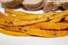 morcovi cu ghimbir la cuptor
