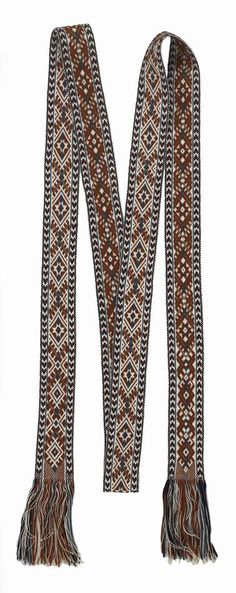 Belt - Woven, Anna Apinis, Latvian, Zemgale Region, Morning Star, New South Wales, circa 1970 - Museum Victoria