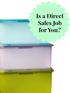 Ask yourself these questions to determine if a direct sales job is for you! #wahm #workathome