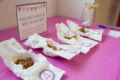 Guess which candy bar made the poopy diaper - fun baby shower game for guests #babyshower #games