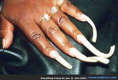 Women With Long Nails Woman Longest You Never Wicked