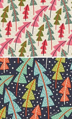 pretty Christmas tree pattern    http://orangeyoulucky.blogspot.com/2013/01/the-cheery-tree.html?m=1