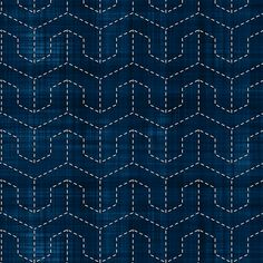 Sashiko: Mukai-Kikko - Faced tortoise shell fabric by bonnie_phantasm on Spoonflower - custom fabric