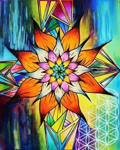 Mandela Pattern of color
