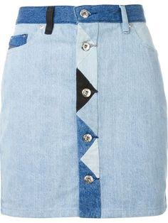 DIESEL 'De-Inca' Denim Skirt. #diesel #cloth #skirt