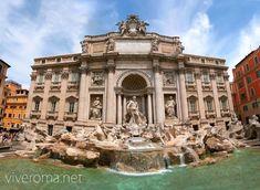 Fontana de Trevi, no te olvides de arrojar tu moneda #roma #viajar #italia