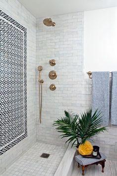 Beautiful Shower. Bathroom Decor. Modern Bathroom. Bathroom Spa