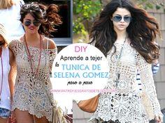 Cómo tejer la túnica de Selena Gomez a crochet