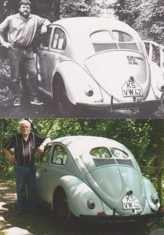 Since this is the oldest Beetle in circulation on the planet. This is the Käfer 1942 of Otto Weymann. Vw Variant, Hot Vw, Vw Vintage, Automobile, Vw Cars, Transporter, Volkswagen Bus, Vw Beetles, Belle Photo