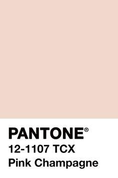 Pink Champagne Pantone
