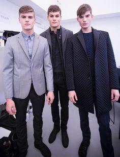 Fashionista Smile: Fashion, Beauty and Style: Calvin Klein: Backstage Milan Show SS13
