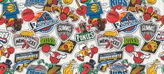 VanilaBCN Studio from Barcelona finished the second phase of their 80's and 90's cartoon inspired tribute to the NBA .